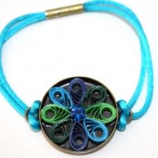 pulsera-quilling-flor