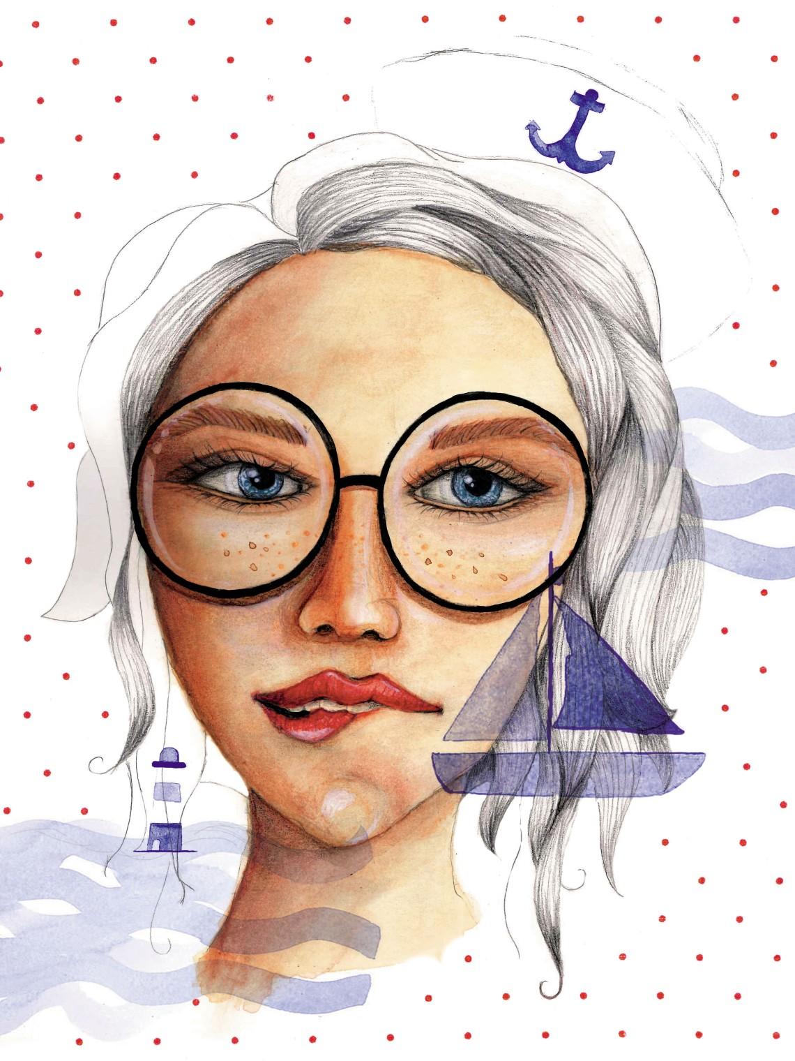 Retrato-gafas